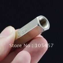"1/4"" BSPP Female Full Ports Air Check Valve One Way Non Return Nickel-Plated Brass Valve(China (Mainland))"