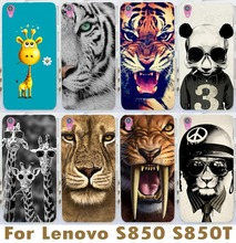 2015 New Arrival Brilliant Tiger Skin Shell Mobile Phone Case For Lenovo S850 S850t Lovely Deer