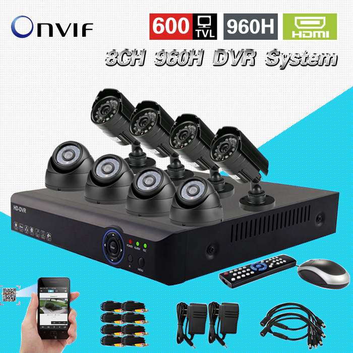 hdmi1080p home 8channel 960h security 3g dvr nvr video surveillance cctv system with IR indoor outdoor camera dvr kit 8ch CK-063<br><br>Aliexpress