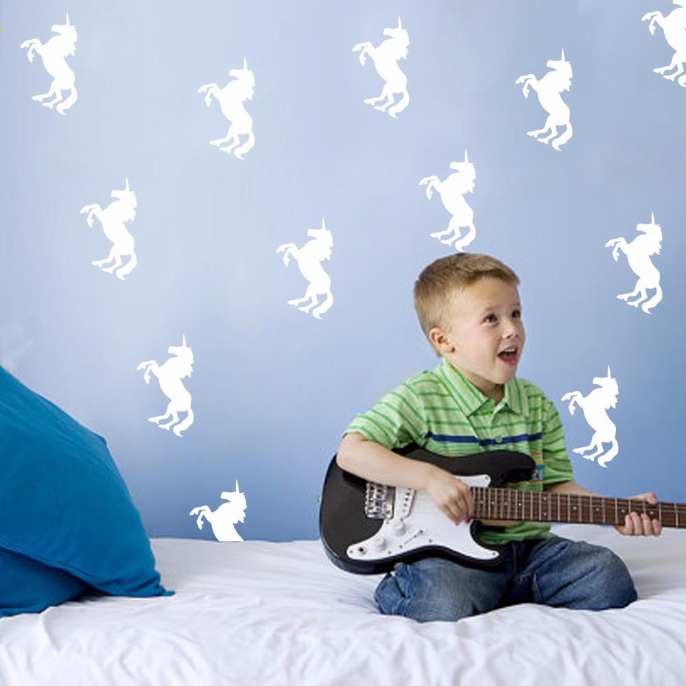 Online kopen wholesale sticker op muur eenhoorn uit china sticker ...