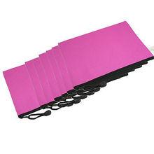 12 Pcs Hand Strap Design Fuchsia Nylon B5 Note Paper Book Bag(China (Mainland))