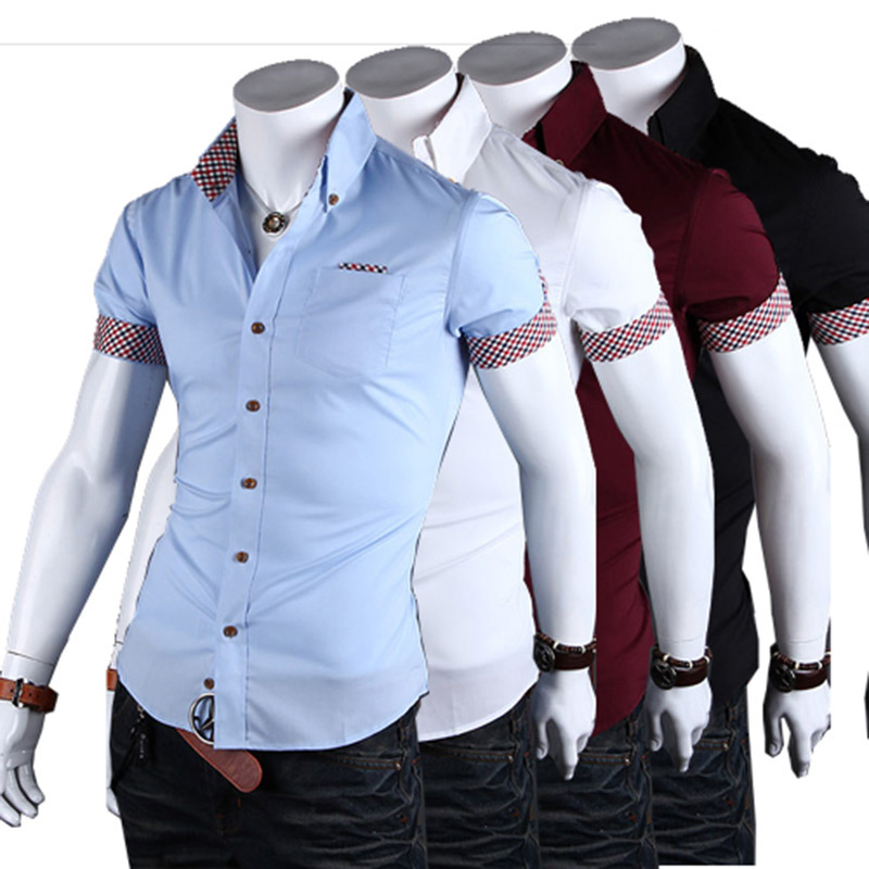 15 fantastic look slim fit shirts for men in 2017 styles for Cheap slim fit shirts