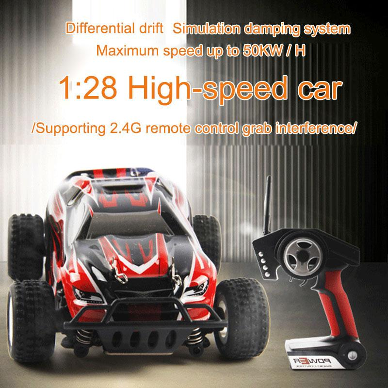 RC Car Radio Remote Control Rechargeable Off-Road RC Car Vehicle Model p929 1:28 2.4Ghz