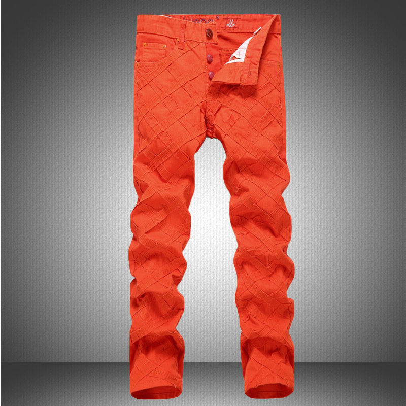 Solid color Fashion Elastic pants hot sale Famous Brands Mens Skinny jeans high quality Cotton pants Man Black Casual TrousersОдежда и ак�е��уары<br><br><br>Aliexpress