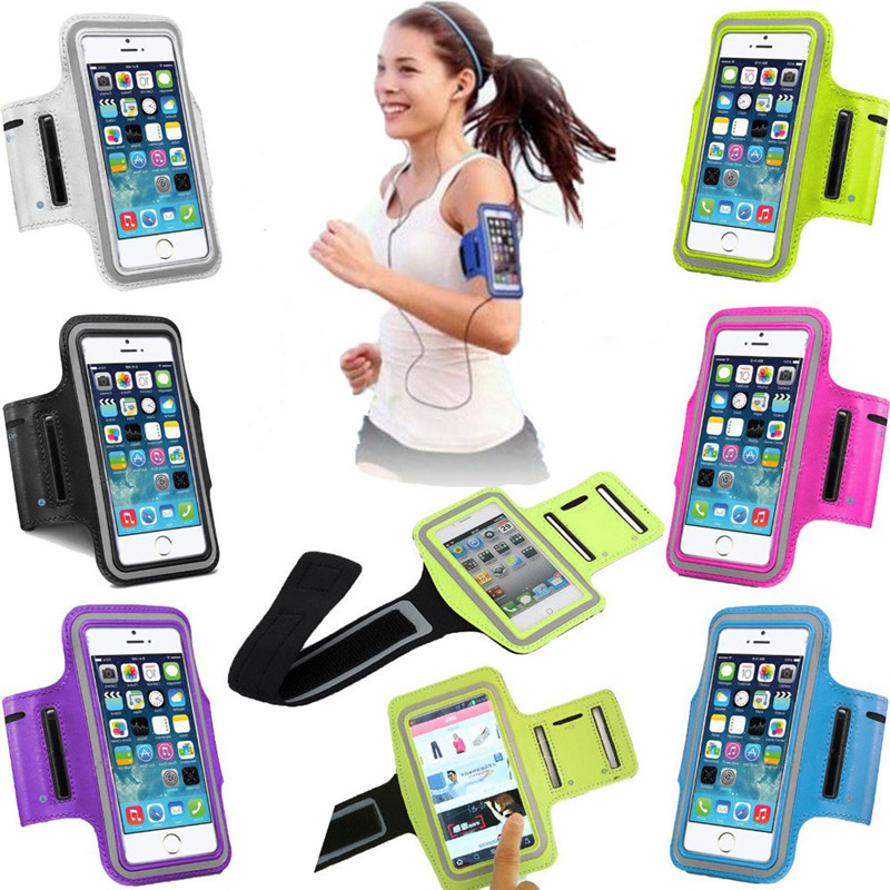 Washable Jog Sports Arm Band Gym Running Cover Case For Apple iPhone 5S 5 5C SE 6 6S 7 Plus Cases Holder Pouch Phone Case Capa(China (Mainland))
