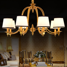 2016 New arrival lustre Hot sale chandelier genuine vintage crystal chandelier handmade golden high quality chandelier lampada(China (Mainland))