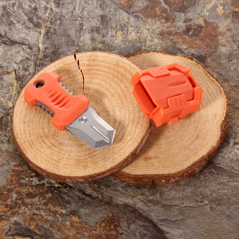 Molle EDC Gear Mini Beetle Multifunction Stainless Steel Knife Outdoor <font><b>Camping</b></font> Survival Pocket Tools Webbing Buckle
