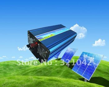 1000W DC12V/24V AC110V/220V Off Grid Pure Sine Wave Single Phase Power Inverter, Surge Power 2000W