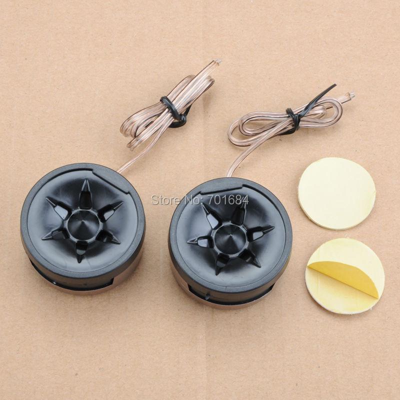 Car Vehicle Dome Loud Speaker Black Horn Audio Tweeter 350W 97dB [QPA431]