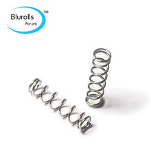 3D Printers Reprap extruder heated bed nickel-plated spring 0.8 * 6.35 * 25 mm steel, free shipping