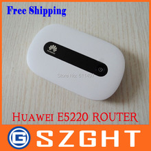 Unlocked Original New wireless Router Huawei E5220, PK E5331 E585 E586 E5832(China (Mainland))