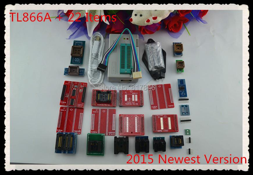 Гаджет  Free Shipping 2015 newest V6.1 MiniPro TL866A Prgrammer USB Universal Programmer /Bios Programme+22 pcs items None Электронные компоненты и материалы