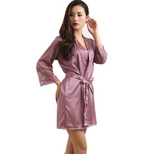Women Lady Sexy Lingerie Sleep Dress Robe Pajama Sleepwear Nightwear Night Dress Hot(China (Mainland))
