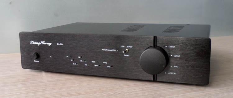 XiangSheng DAC-05A USB SPDIF Balanced XLR I/O DAC Double PCM1794 Flagship Level Decoder Digital Analog Converter Black(China (Mainland))