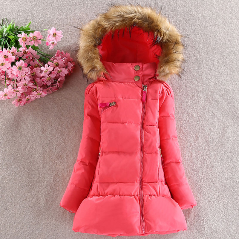 Kid Clothes Girls Winter Coats 2015 Thick Warm Cotton Children Outerwear Jacket Teenage Girl Parka 2-12T - China Top One Online Store store
