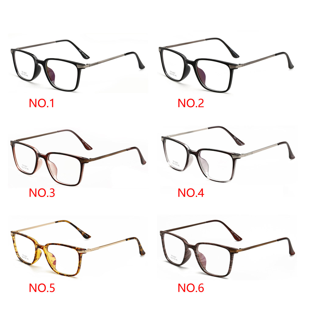 2016 New Arrival Unisex TR Super Light Square Spectacles Eyewear  Glasses Frame Men & Women Eyeglasses