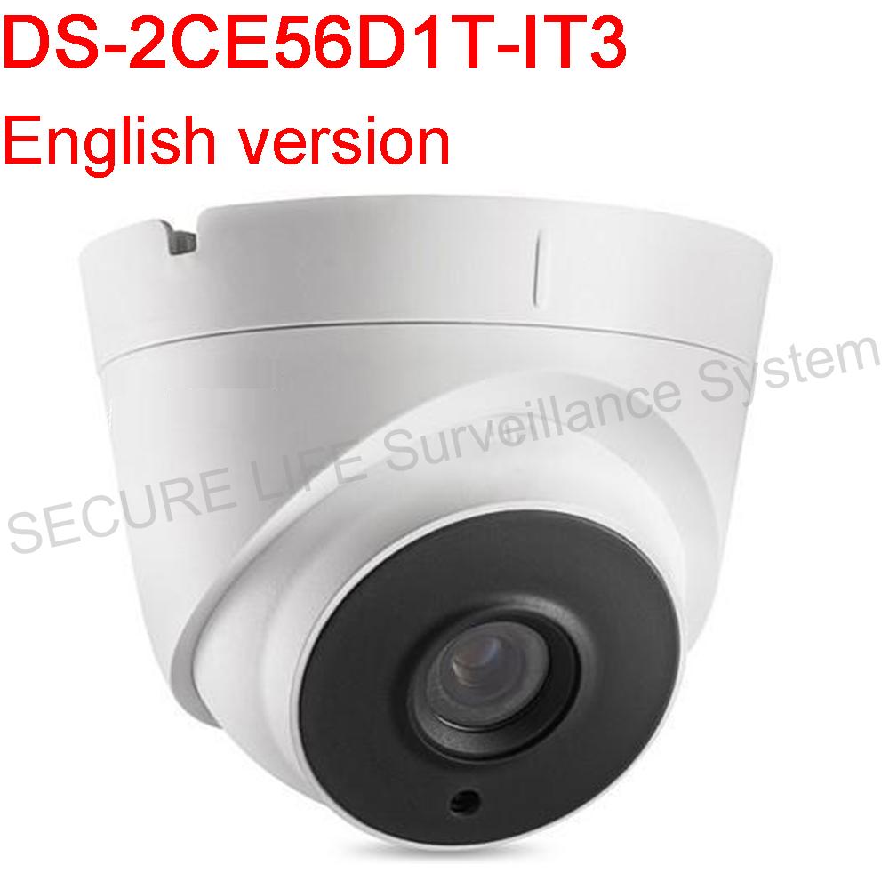 Фотография English version DS-2CE56D1T-IT3 HD1080P EXIR Turret Camera Support IP66 weatherproof True Day/Night 40m IR