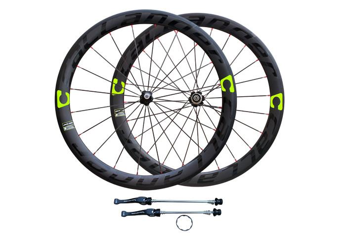 Lumière de carbone CALLANDER 700C 48 mm pneu jantes vélo route mat 3 K complets de roues de vélo de carbone 38 50 mm largeur 3 couleur(China (Mainland))
