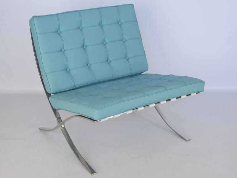 Nieuwste ontwerp lederen sofa kuka van barcelona stoel en ottoman set in naam van het item - Pouf eigentijds ontwerp ...