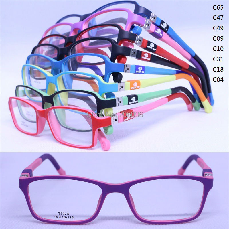 drop sales T8028 pupil TR90 colorful 180 degree flexible spring hinge rectangle with silicone tips optical eyeglasses frameОдежда и ак�е��уары<br><br><br>Aliexpress