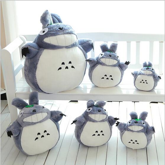 Cute Totoro Plush Toy My Neighbor TOTORO Soft Plush Stuff Toys Kids Birthday Gift Hot Sales(China (Mainland))