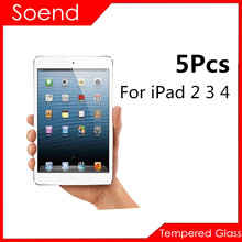 5Pcs/Lot Tempered Glass Screen Protector For Apple iPad 2 3 4 Protection Cover Protective Guard Film 2