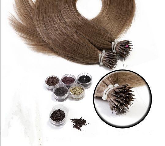 fast free DHL/FEDEX shipping 10A grade unprocessed 60# 1B#  healthy hair nano ring hair extnesions  nano hair extensions<br><br>Aliexpress