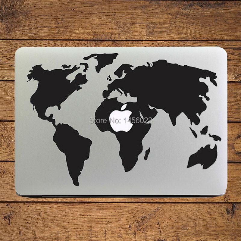 Buy c j graffiti world map vinyl decal 10 creative laptop skins to half gumiabroncs Choice Image