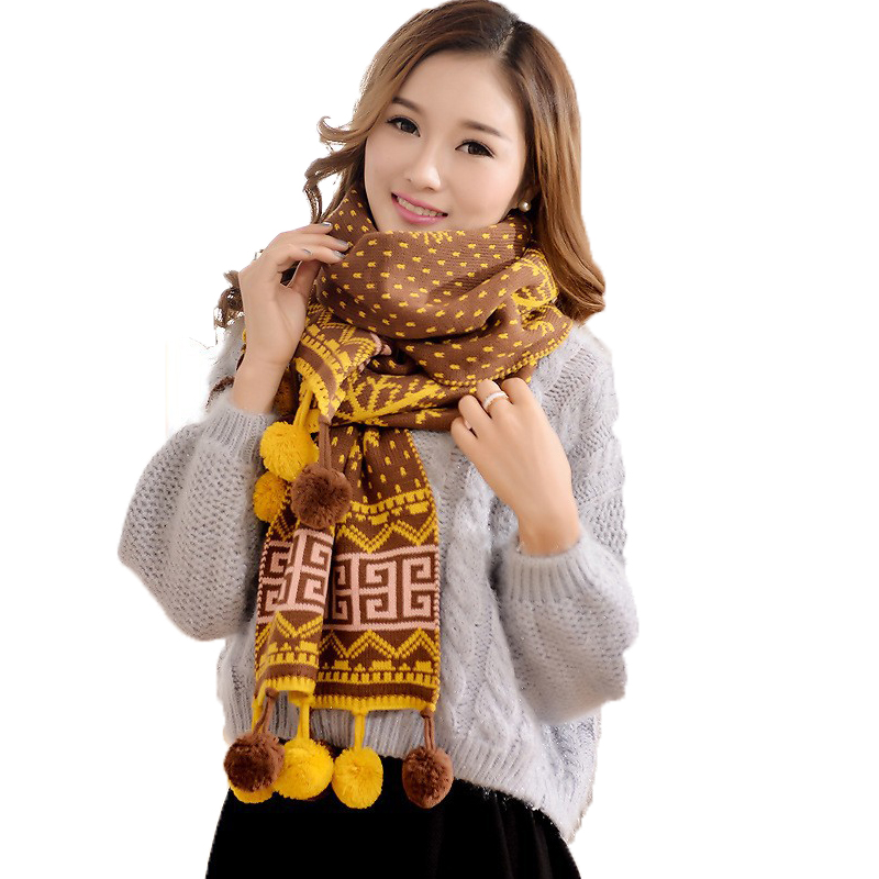 2015 Hot sale fashion Women's Winter Stole Scarves New arrival Casual Ladies Scarf Classic Neckerchief 26.25(China (Mainland))