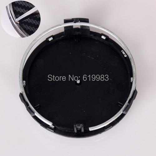 4pcs 75mm Black / Silver Carbon fiber Car Wheel Center Caps Emblem Wheel Cover Hub Wheel Trim Cap Hubcap Badges For Mercedes(China (Mainland))