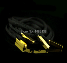 Gold Aglets basketball shoelace tips gold silver black metal shoe laces aglets yeezy tips 50pcs/lot(China (Mainland))