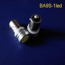 High power 6V 1W BA9S led Instrument Lights,BA9S led warning lights 6.3v LED indicating lamp BA9S led 6v free shipping 5pcs/lot(China (Mainland))