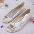 20 Colors Hot Selling Wedding Shoes Beige Ballet Flat For Women Open Toe Dropship