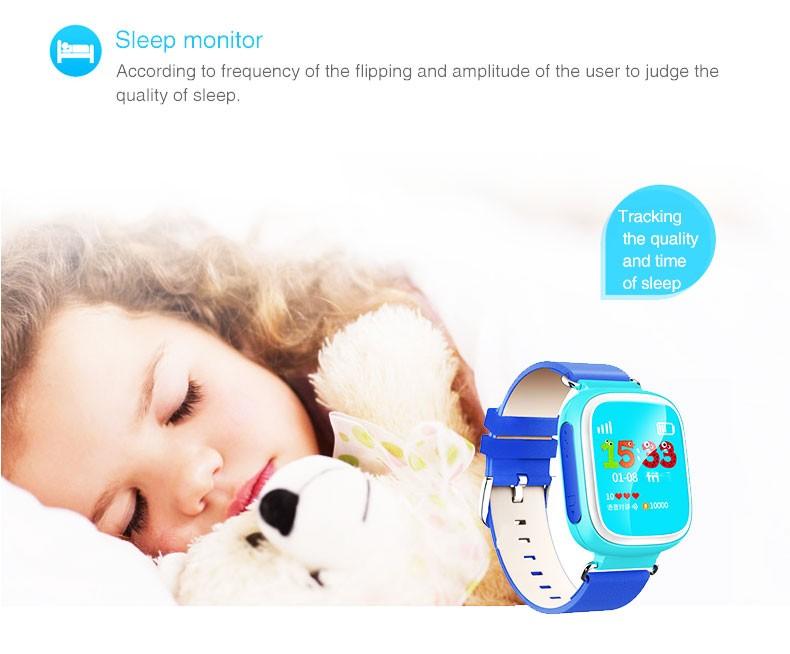Горячие GPS Tracker Часы для Детей Безопасный Gps-часы Q80 черный смарт Наручные Часы SOS Вызова Finder Locator Tracker Anti Потерянный Монитор GSM