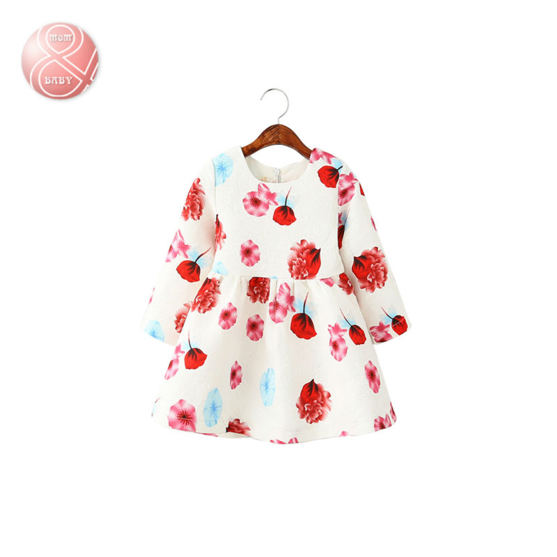 2016 NEW girl kids spring dress American and European style 2-7Y girl princess dress<br><br>Aliexpress