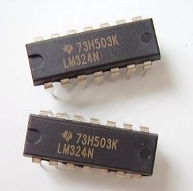 70103 Free shipping 10pcs LM324 DIP Amplifier LM324P DIP14 LM324N