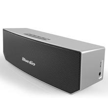 100%Original Bluedio BS-3 (Camel) Mini Bluetooth Speaker Portable Wireless Speaker Sound System 3D Stereo Music Surround(Silver)(China (Mainland))