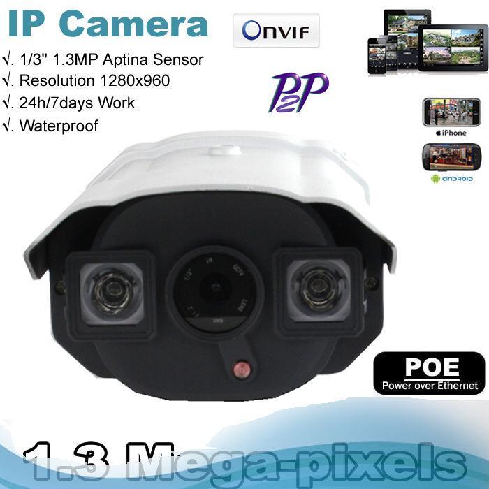Hot sale ! P2P Network IP Camera 1.3 MegaPixel HD Resolution 960P Onvif CCTV IP camera(China (Mainland))