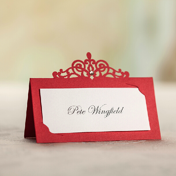 Boda Time Limited New Arrivals 24 Pieces Pack Table Cards