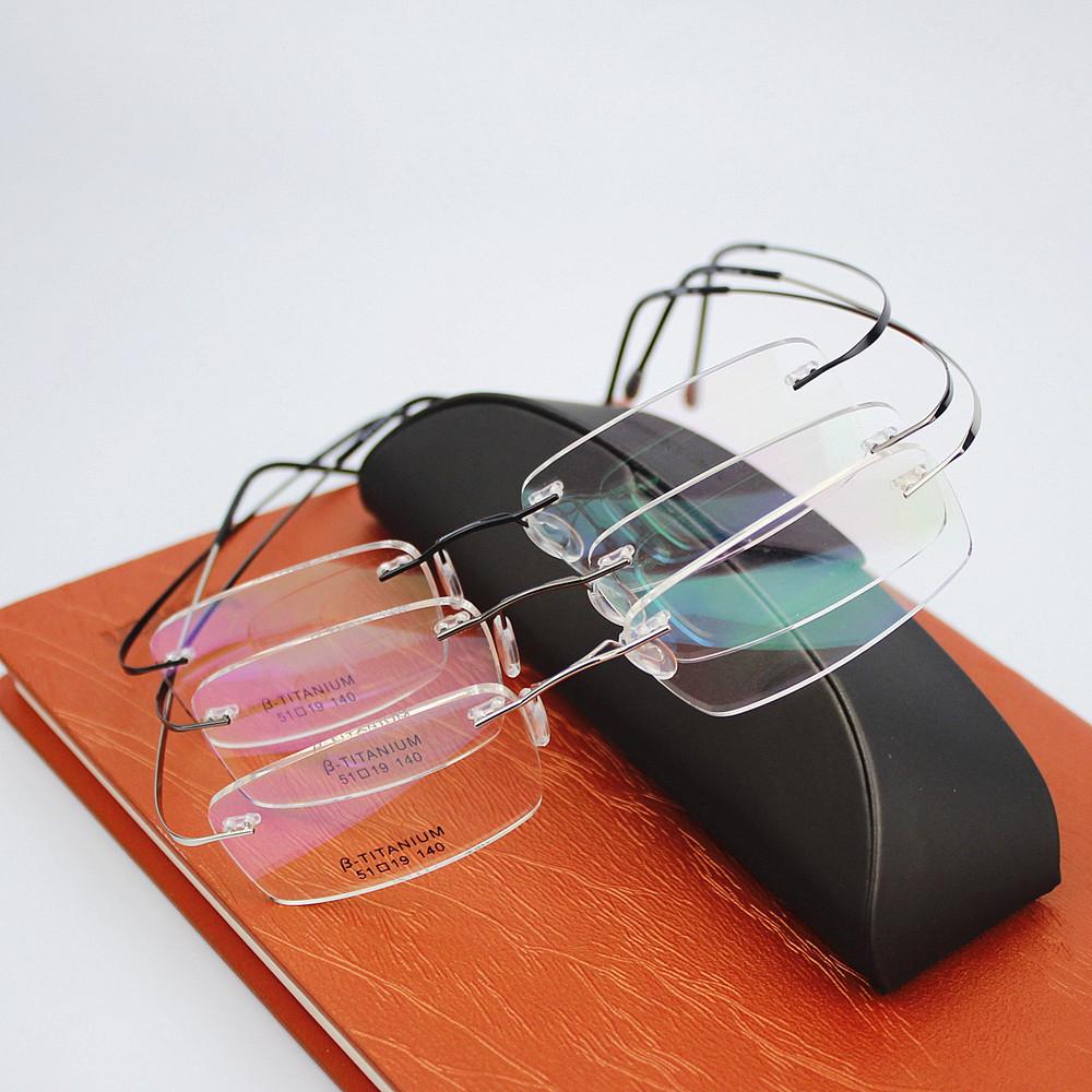 ebad000187c ... Eyeglasses Men women With Original Case Oculos de grau. Brand   Silhouette. Frame Material B Titanium. Package  1PCS glasses + original box  + glasses ...