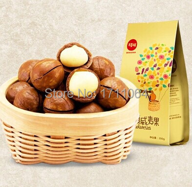 560g macadamia nuts Creamy milk dried fruit snacks creamier nut