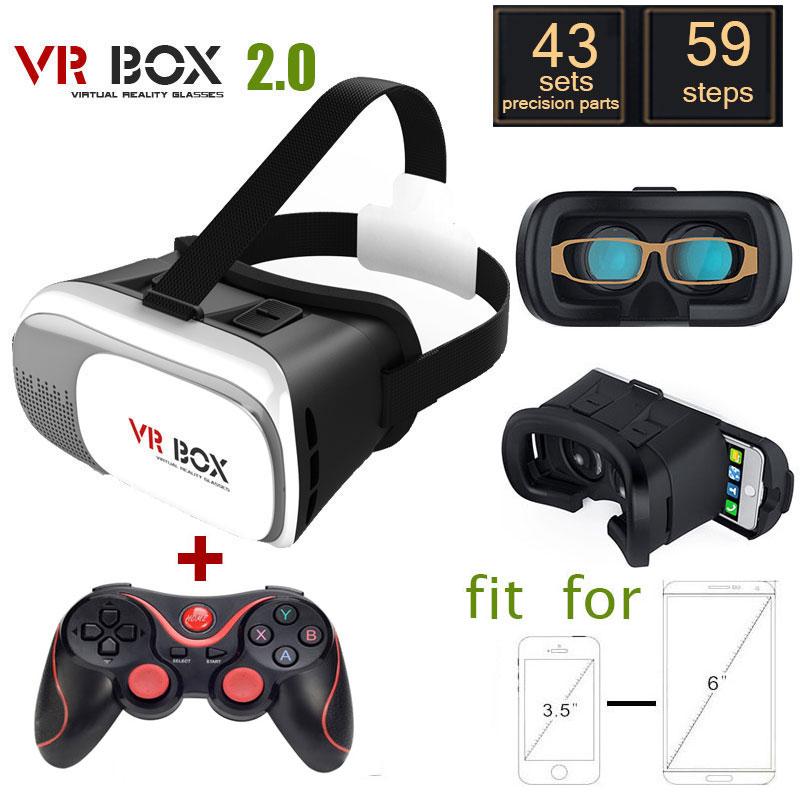 Здесь можно купить  Google cardboard VR BOX 2.0 Version VR Virtual Reality Glasses + Bluetooth Wireless Mouse / Remote Control / Gamepad  Бытовая электроника