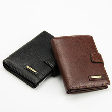 Buy 2017 luxury men's genuine leather wallets passport cover pouch card holders clutch money purse Hasp bags business documents Case for $10.76 in AliExpress store