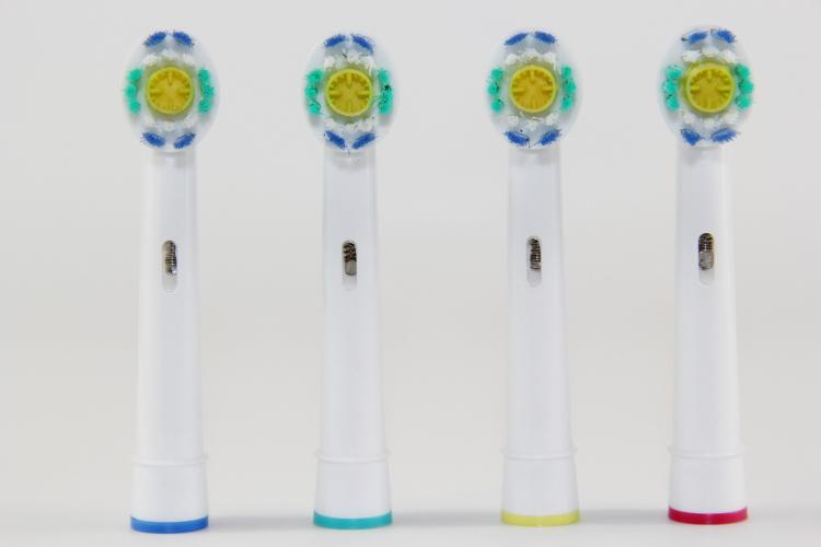 Головки для зубных щёток из Китая