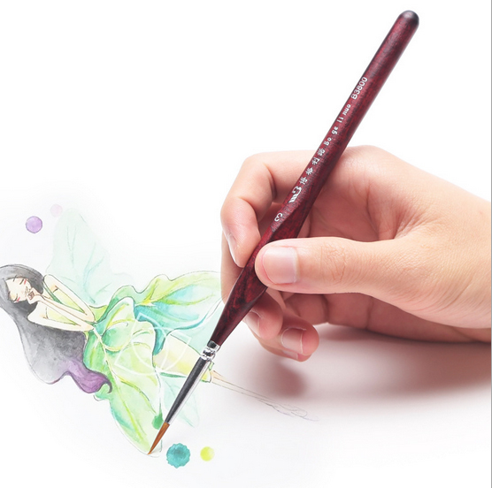 Drawing Lines With Oil Paint : Watercolor oil art drawing lines paint brush painting