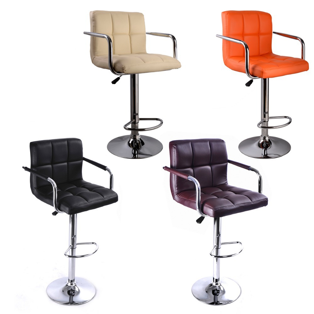 Bar stools Bar chair With PU leather and chromed plated  : Bar stools Bar chair With PU leather and chromed plated lift style Office chair living room from www.aliexpress.com size 1000 x 1000 jpeg 99kB