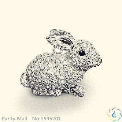 Lucky Rabbit Classic Pendant Thomas Style Glam And Soul Fashion Lovers' Jewerly For Women In silver-plated(China (Mainland))
