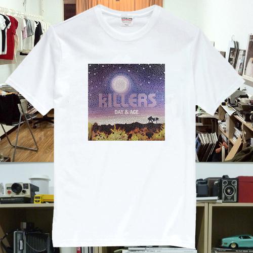 The Killers Music Rock Band T-Shirts Tee TK2(China (Mainland))
