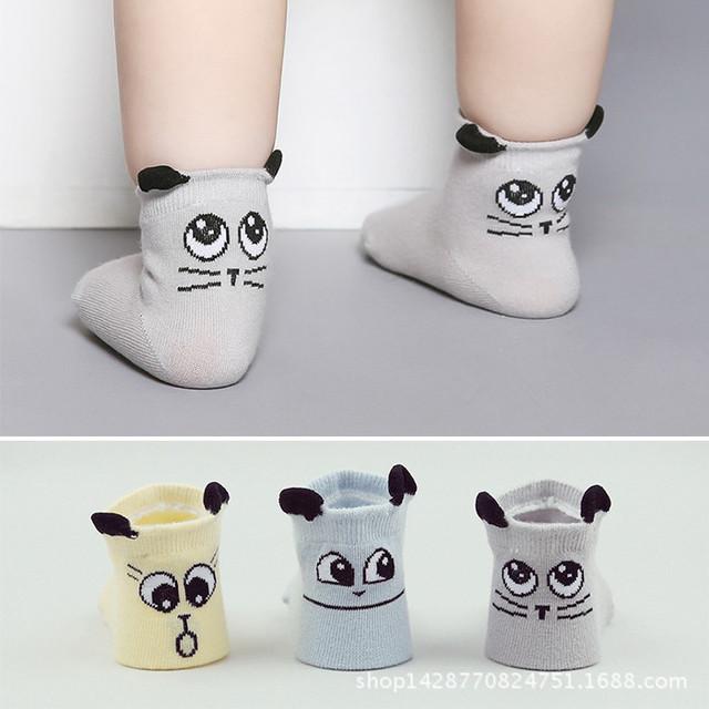 Весна лето осень милый ребенок мальчики носки подходящие для детей дети малышей прекрасный ...