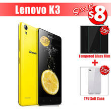 Lenovo K3 K30T K30-T K30W K30-W Android 4.4 MSM8916 Quad Core WCDMA Mobile Phone 2GB RAM 16GB ROM 5.0'' Dual SIM GPS Flash Deal(China (Mainland))